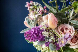 Florist Histon Lilac Spring bouquet
