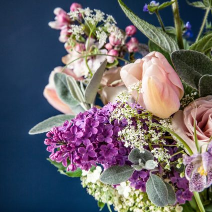 Florist Histon Lilac Spring bouquet